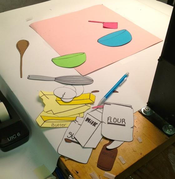 Cupcake Animation Process