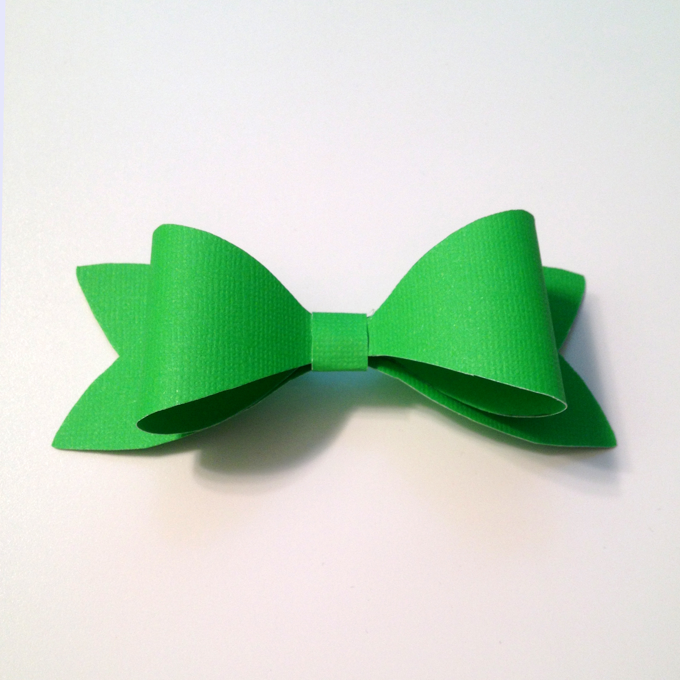 the perfect paper bow