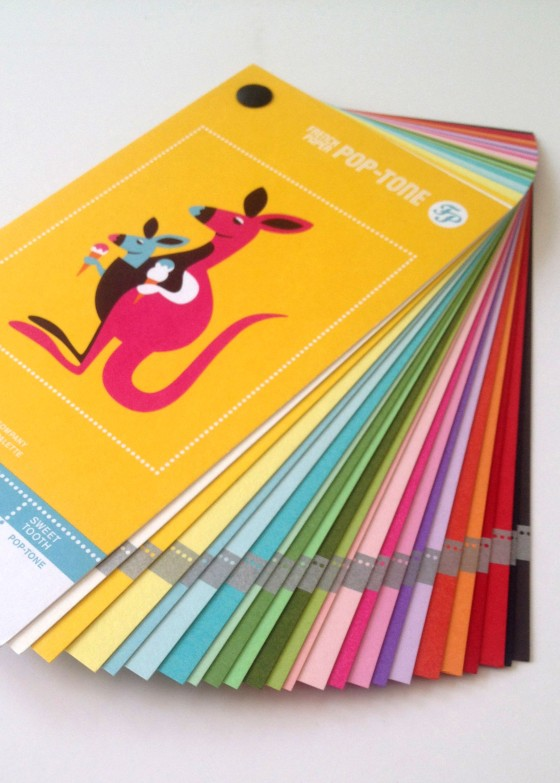 I also got a few really neat swatch booklets.